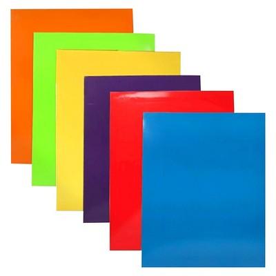 JAM 6pk Glossy Paper Folder 2 Pocket