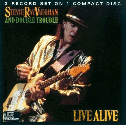 Stevie ray vaughan - Live alive (CD) - image 1 of 1