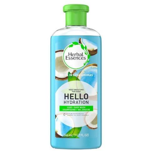 Herbal Essences Hello Hydration Shampoo and Body Wash Deep Moisture for Hair - 11.7 fl oz - image 1 of 2