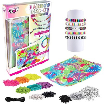 Fashion Angels Fashion Angels Rainbow Disc Bracelet Design Kit With Keeper Pouch