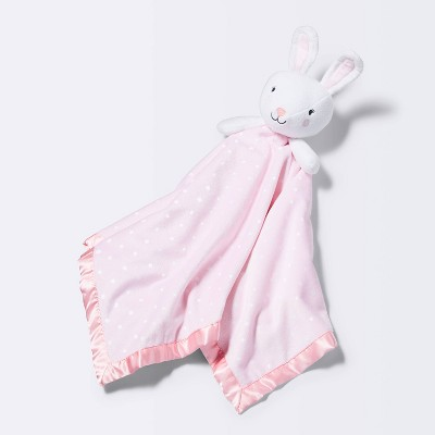 Large Security Blanket Bunny - Cloud Island™ Light Pink