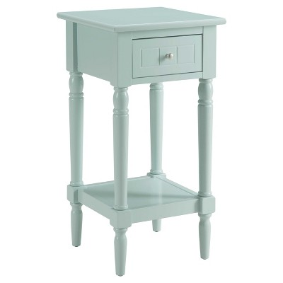 French Country Khloe Accent Table Sea Foam - Breighton Home