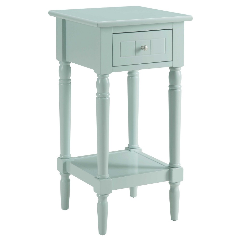 French Country Khloe Accent Table Sea Foam Breighton Home