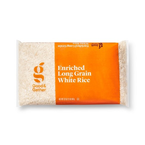 Enriched Long Grain White Rice - 2LB - Good & Gather™ - image 1 of 2