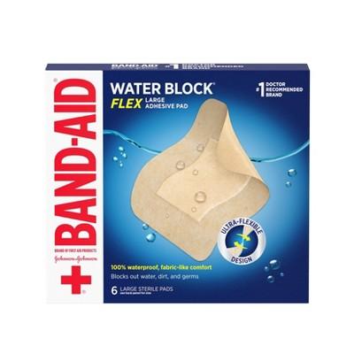 Band-Aid Water Block Flex Adhesive Pad - 6ct