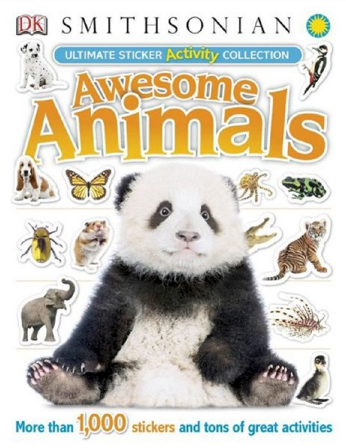 Ultimate Sticker Activity Collection: Awesome Animals by DK Publishing (Paperback) by Dorling Kindersley Limited - image 1 of 1