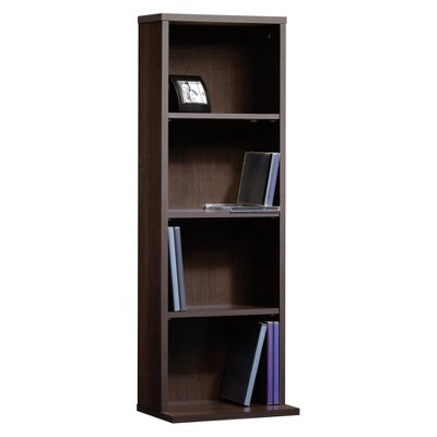 Beginnings Multimedia 4 Shelf Storage Tower Cinnamon Cherry - Sauder