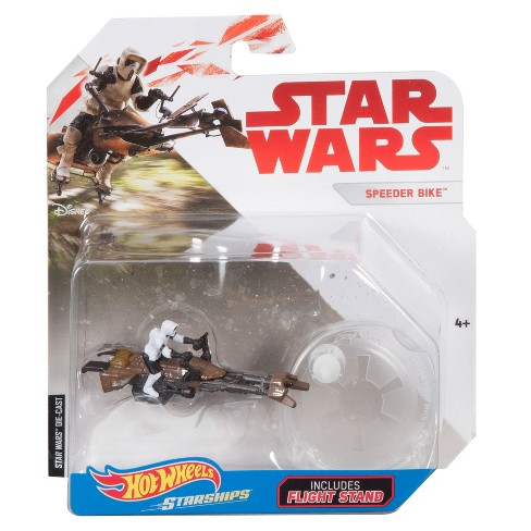 Hot Wheels Star Wars: The Last Jedi -Speederbike Starship Vehicle - image 1 of 1