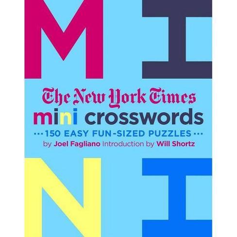 The New York Times Mini Crosswords Volume 3 By Joel Fagliano