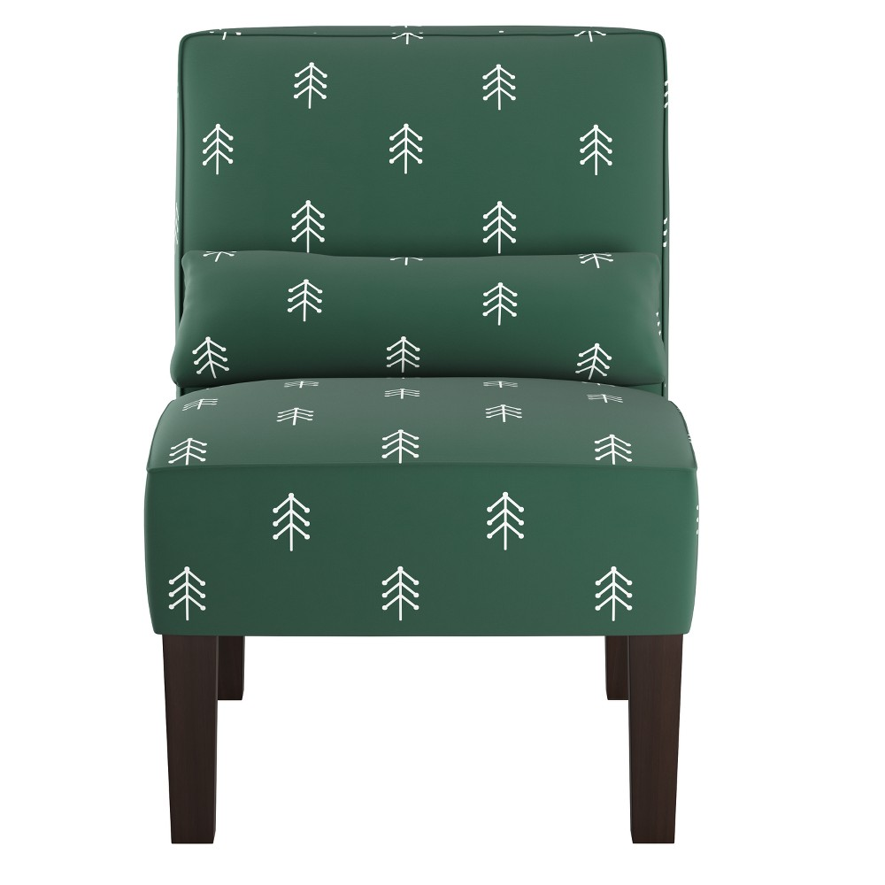 Armless Chair Line Tree Evergreen - Skyline Furniture