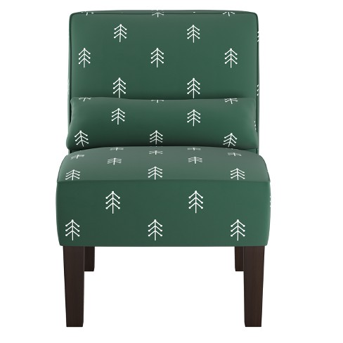 Armless Chair Linen - Skyline Furniture - image 1 of 5