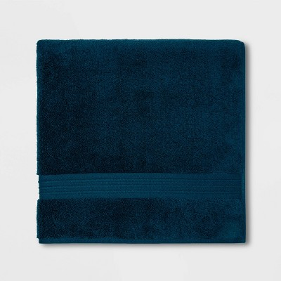 Spa Bath Sheet Dark Blue - Threshold Signature™