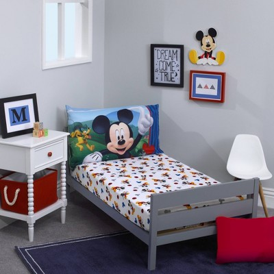 Mickey Mouse & Friends Micky Mouse Toddler Sheet Set