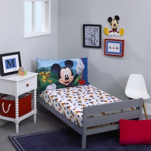 Mickey Mouse & Friends Micky Mouse Toddler Sheet Set