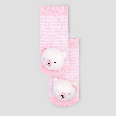 Baby Girls' Socks - Just One You® made by carter's Pink 0-6M