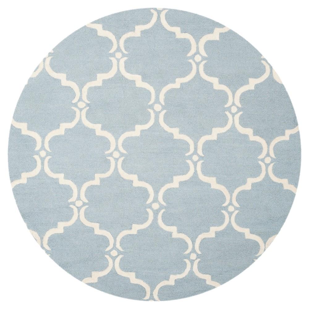 Lina Area Rug - Blue / Ivory ( 8' Round ) - Safavieh, Blue/Ivory