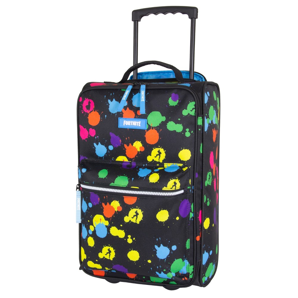 """Image of """"Fortnite 20"""""""" Kids' Carry On Suitcase - Paintball Splatter, MultiColored"""""""