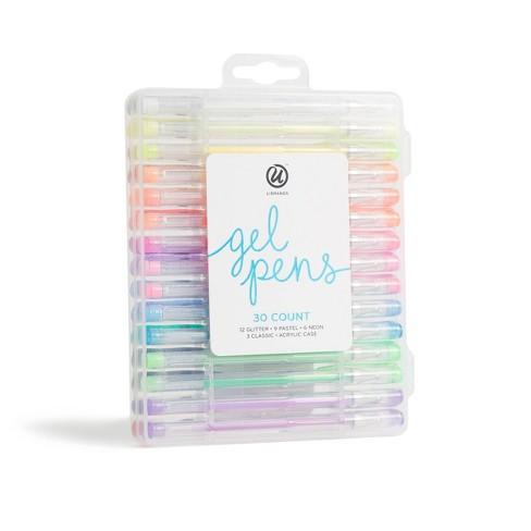 30ct Gel Pens in Case - U-Brands - image 1 of 4