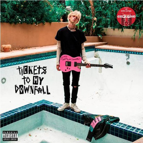 Machine Gun Kelly - Tickets To My Downfall (Target Exclusive, CD) - image 1 of 1