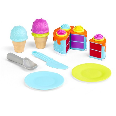 Little Tikes Tasty Jr. Bake 'n Share Birthday Treats Role Play Activity Pack - image 1 of 4