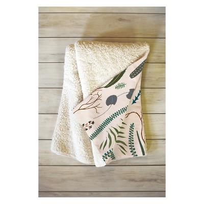 50''x60'' Holli Zollinger Wilder Throw Blanket Brown - Deny Designs