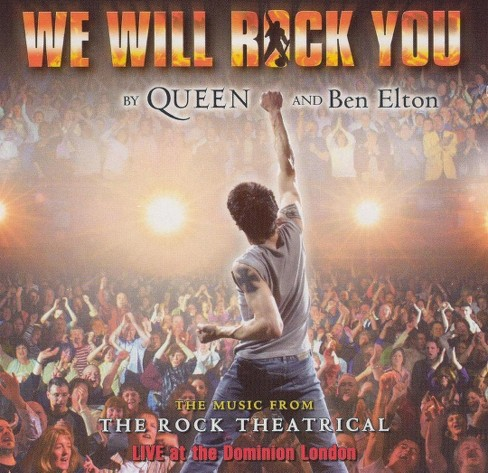 Original london cast - We will rock you:The rock theatrical (CD) - image 1 of 1