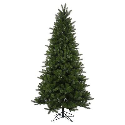 7.5ft Pre-Lit LED Artificial Christmas Tree Full Spokane Pine EZ-Instant - Multicolored Lights