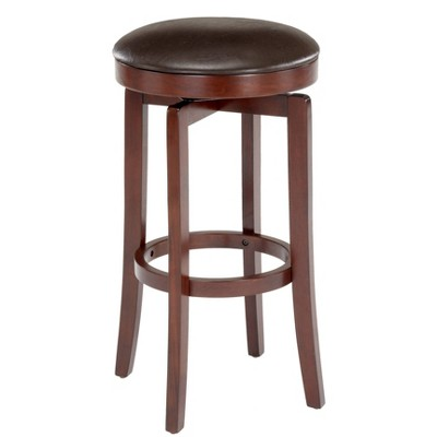 Malone 25 Counter Height Barstool Wood Cherry Hillsdale Furniture Target