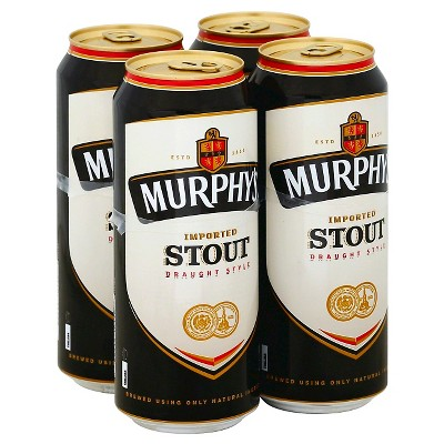 Murphy's Stout Beer - 4pk/16 fl oz Cans