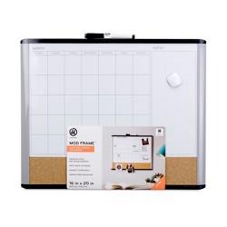 "Ubrands MOD Frame 3 n 1 Calendar Board - 16"" x 20"""