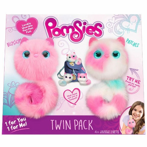 Pomsies Blossom and Patches Plush Toy 2-Pack - image 1 of 1