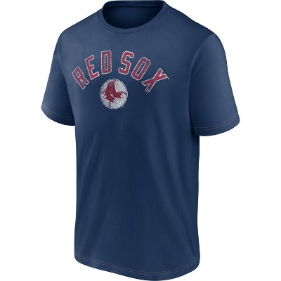 MLB Boston Red Sox Men's Short Sleeve Bi-blend T-Shirt