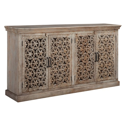 Fossil Ridge Console Amber - Signature Design by Ashley - image 1 of 4