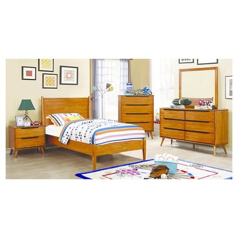 . Dawna Mid Century Modern Nightstand   Furniture Of America