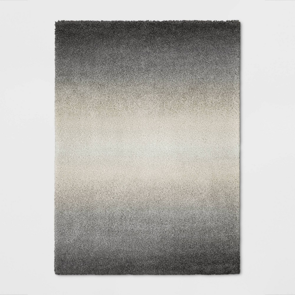 9 X12 Ombre Design Woven Area Rug Gray Project 62 8482