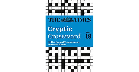 Times Cryptic Crossword 19 (Paperback) - image 1 of 1