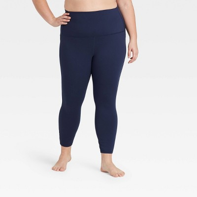 """Women's  Contour Curvy High-Waisted Leggings with Power Waist 24"""" - All in Motion™"""