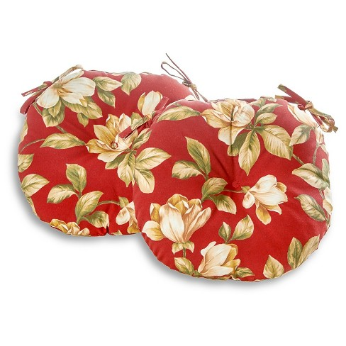 Outdoor Bistro Chair Cushion Set - Roma Floral - Greendale Home Fashions - image 1 of 3