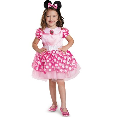 Mickey Mouse Clubhouse Pink Minnie Mouse Classic Tutu Toddler/Child Costume