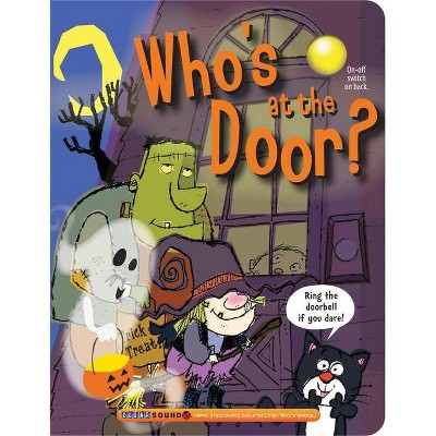 Who's at the Door? -  BRDBK by Ron  Berry (Hardcover)