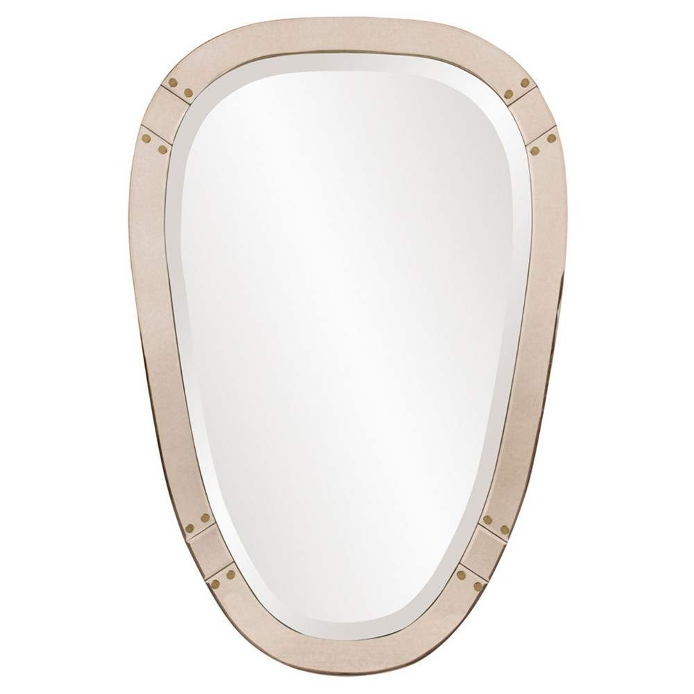 Image of Howard Elliott - Tobias Tapered Mirror, Gold