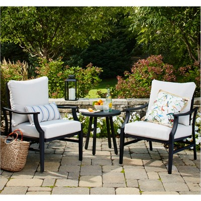 Fairmont 3pc Motion Patio Chat Set   Threshold™ by Shop Collections