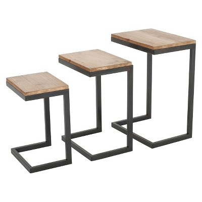 Merveilleux Tohono Nesting Tables Antique Firwood (Set Of 3)   Christopher Knight Home