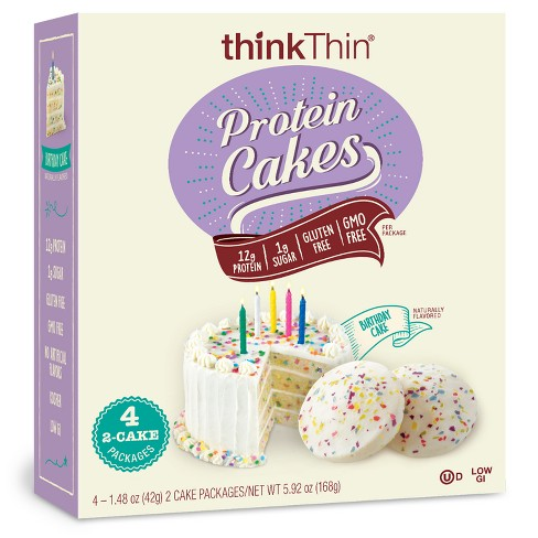 ThinkThin Birthday Cake Flavored Protein Cakes
