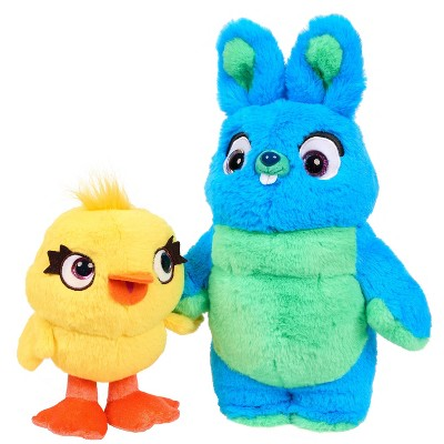 Disney Pixar Toy Story 4 Ducky And Bunny Scented Friendship Plush