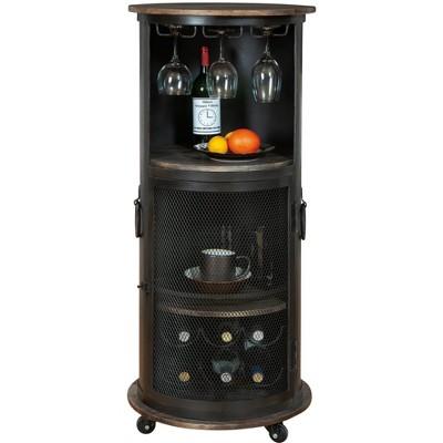 Howard Miller 695256 Howard Miller Half Pint Wine & Bar Cabin 695256