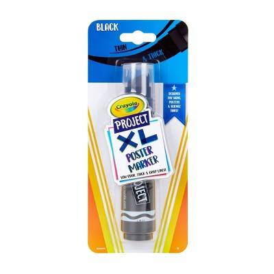 1ct Crayola Project XL Poster Marker - Black
