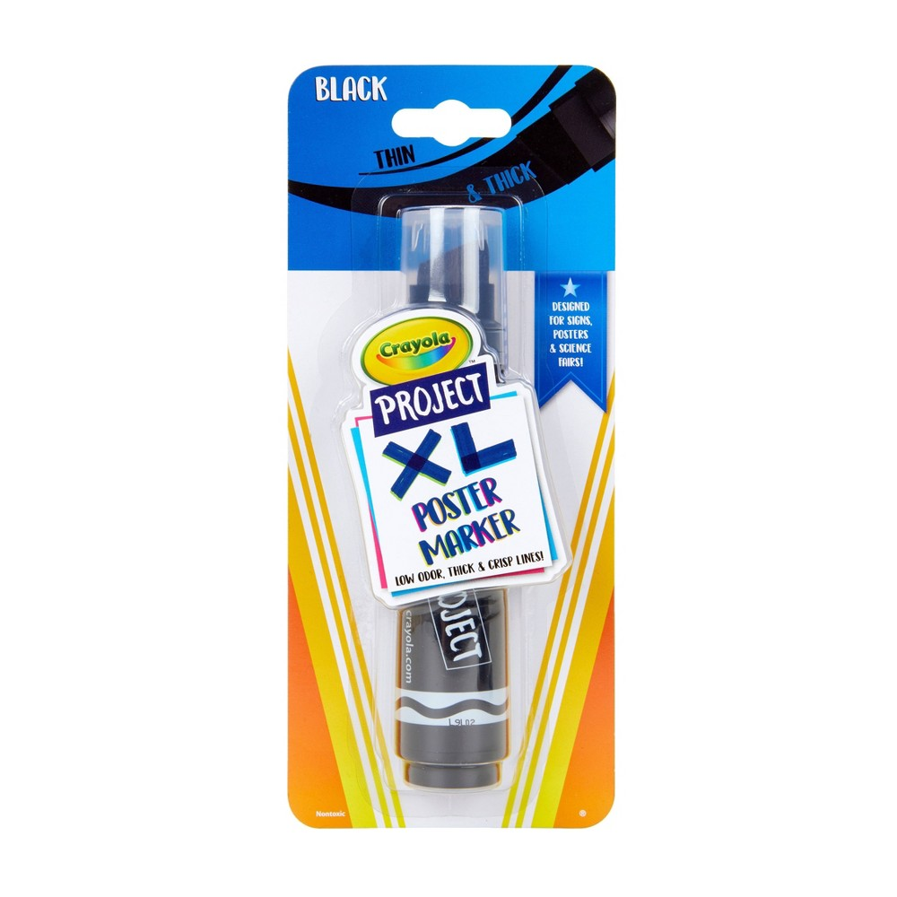 Image of 1ct Crayola Project XL Poster Marker - Black