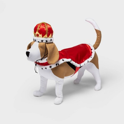 Royal Cape and Crown Dog and Cat Costume Set - Hyde & EEK! Boutique™