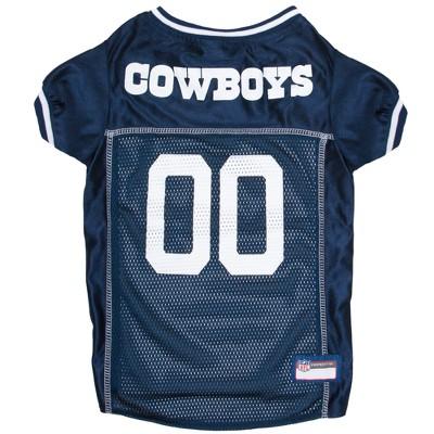 Dallas Cowboys Pets First Mesh Pet Football Jersey - Navy M